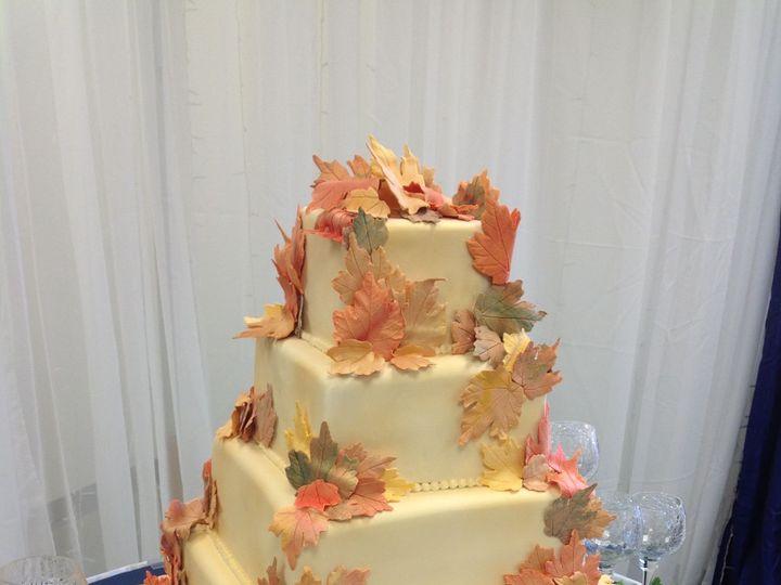 Tmx 1527372248 19205b776f823c8a 1527372245 D3bde5d2b73f9288 1527372221686 2 4 Tier Fall Flower Sedalia wedding cake