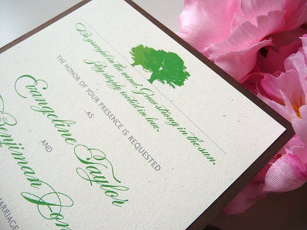Rooted in Love Oak Tree Wedding Invitations ~ Available at...
