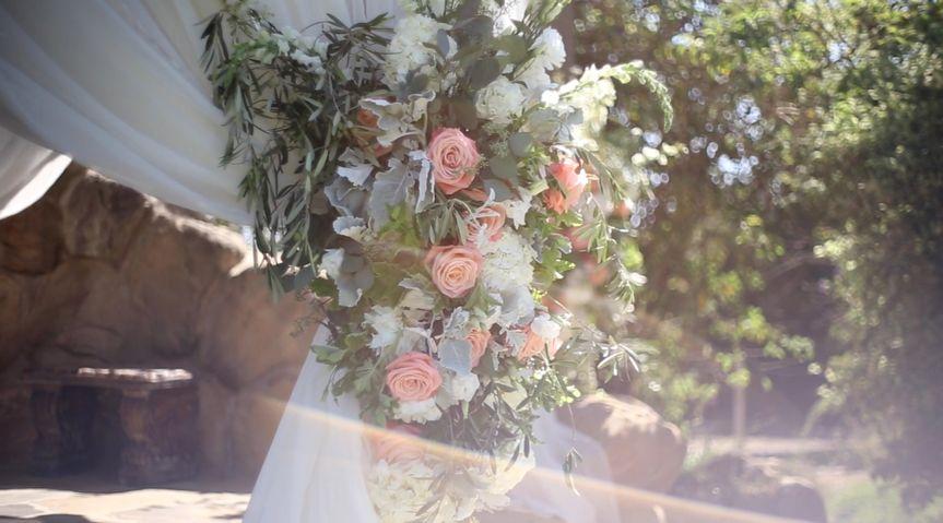 ceremony flower close up