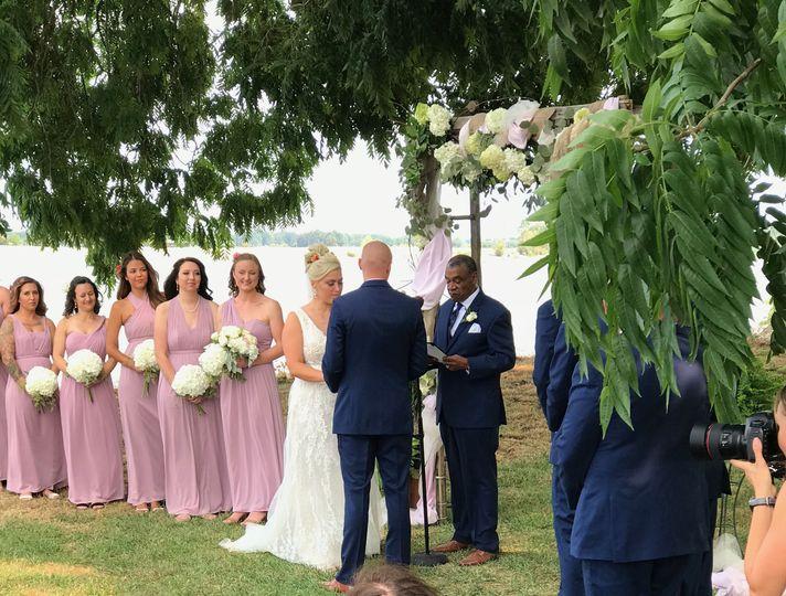 Wedding On the Columbia