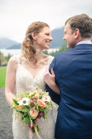 Wedding in the Columbia Gorge