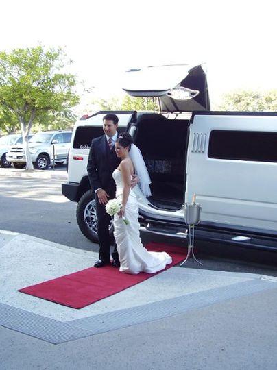 Wedding limos hummer
