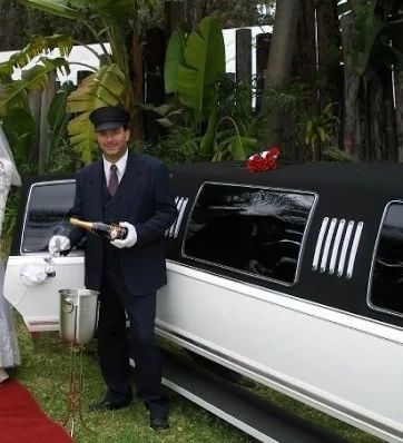 limo wedding chauff