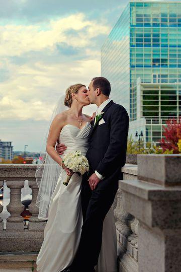 urban wedding portraits madison wi