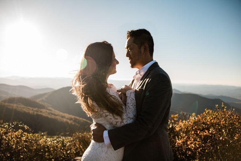 Blue Ridge Parkway Wedding