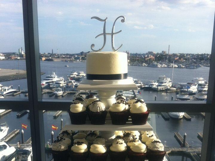 Tmx 1404322094605 Wedding With A View  wedding cake