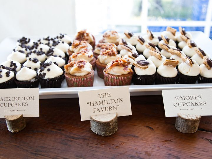 Tmx 1404322100756 Wedding Cupcake Bar  wedding cake