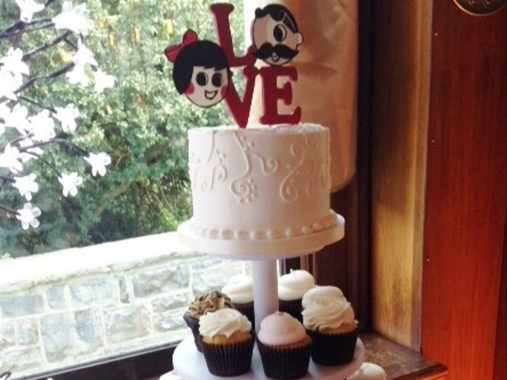 Tmx 1416416537747 Baltimore Wedding 1  wedding cake