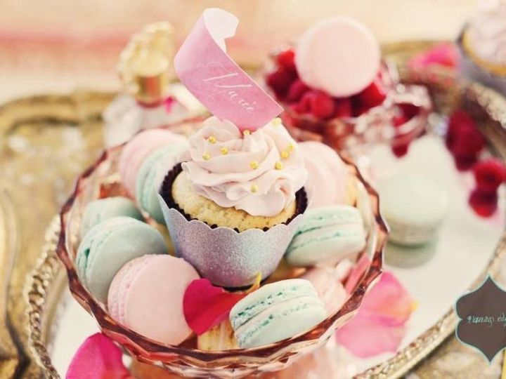 Tmx 1423076388535 Marie Antionette Dessert Display6  wedding cake