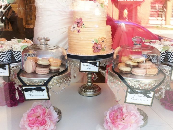 Tmx 1449163635743 Wedding Cupcake And Macaron Display  wedding cake
