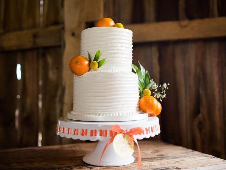 Tmx 1468594915092 Two Tier Swirl Cake With Fruit   Kira Rogers Encha  wedding cake