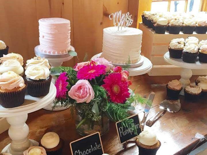 Tmx 1481134172520 Pond View Rustic Wedding Display 1   Copy  wedding cake