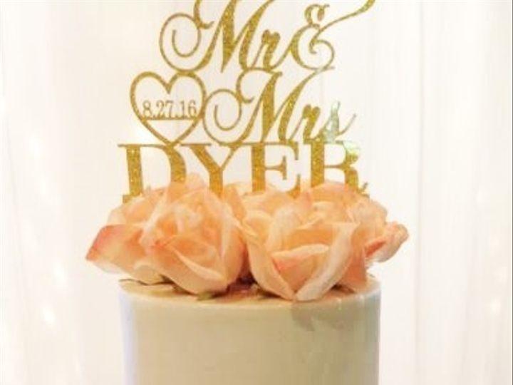 Tmx 1481134205559 Two Tier Wedding Display 2  wedding cake