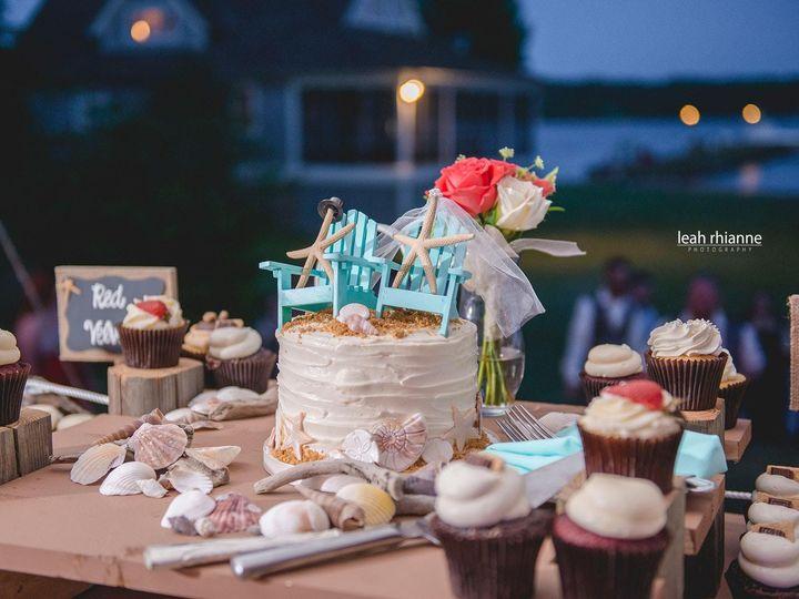 Tmx 1481134240233 Wedding Display Leah Rhianne Photography 6  wedding cake