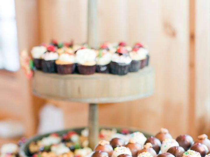 Tmx 1481134249714 Pond View Wedding Dessert Display. Megan Kelsey Ph  wedding cake