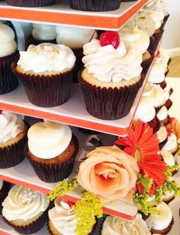 Tmx 1481134314914 Floral Ribbon Wedding Display2  wedding cake
