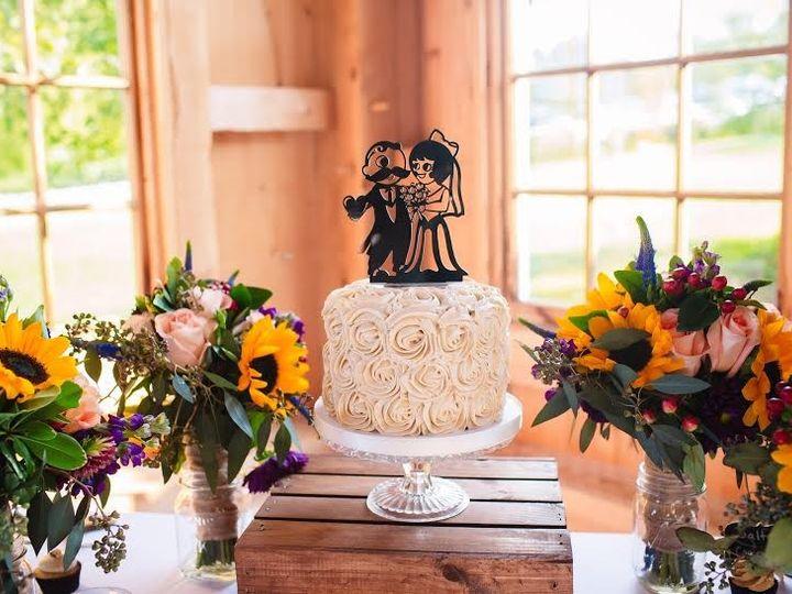 Tmx 1481134337859 Wedding Display Natty Boh Rosette Sunflowers  wedding cake