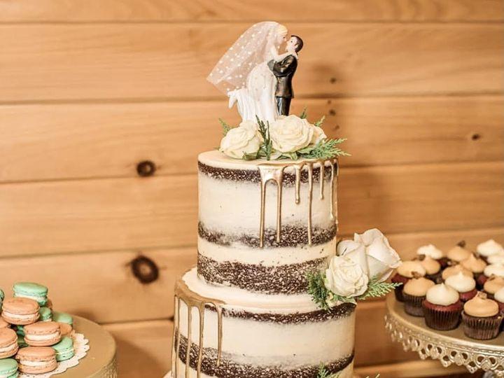 Tmx 3 Tier Wedding Cake Naked Chocolate Gold Drip 51 365394 161540236040208  wedding cake