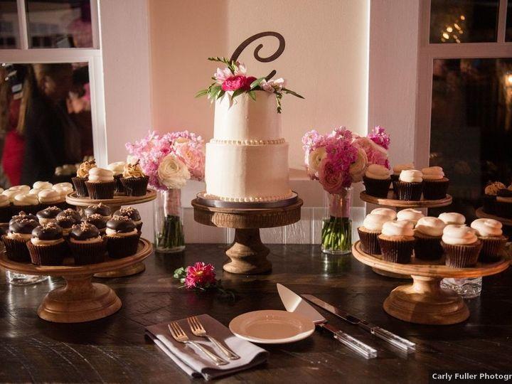 Tmx Wedding Cake And Cupcake Display Carly Fuller Photography 51 365394 161540233926530  wedding cake