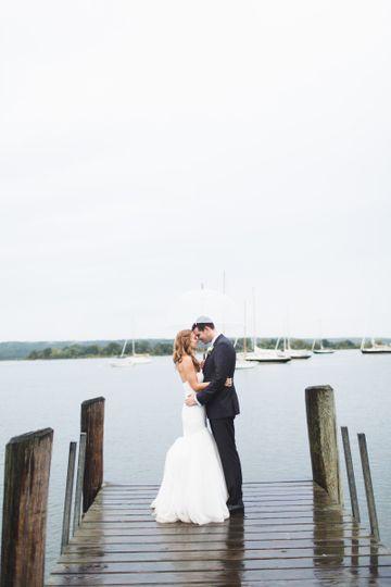 Couple photo at the wharf