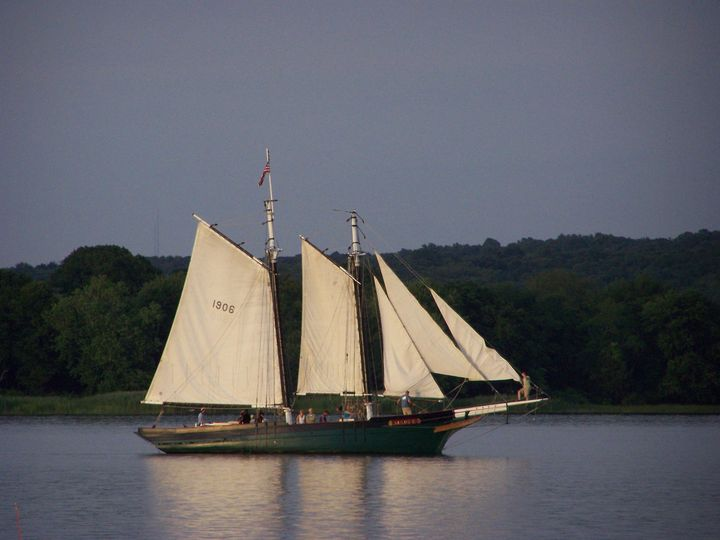 The historic Schooner Mary E is available to charter for cruises as a part of your event or for a...