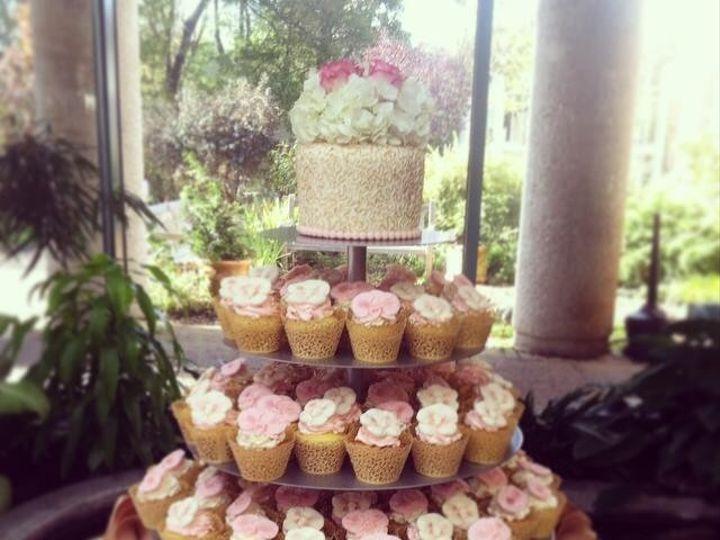 Tmx 1419819136229 Pinkgold Warrenton, District Of Columbia wedding cake
