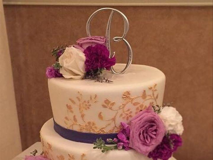 Tmx 1419819138762 Purple Wedding Warrenton, District Of Columbia wedding cake