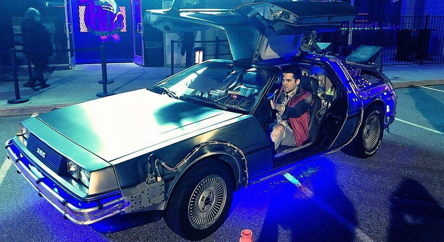DLorean time machine