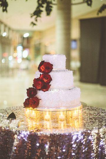 A Glam, Mod Winter Wedding