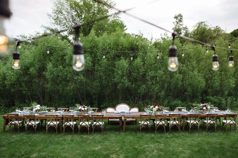 An Outdoor Artistan Wedding