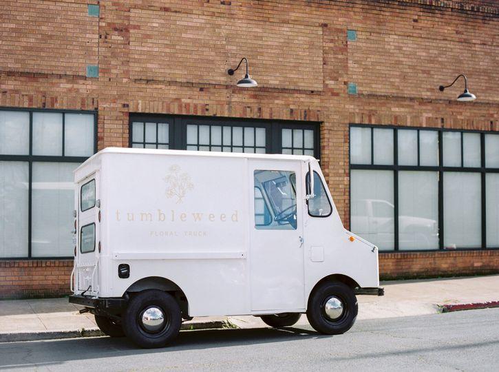 Tumbleweed Floral truck