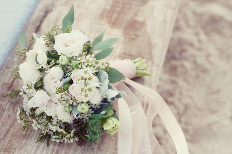 Wedding Bouquet by Bermuda Bri