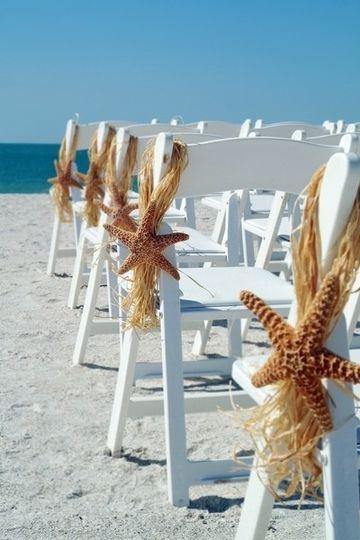 Pew ends for Bermuda Wedding
