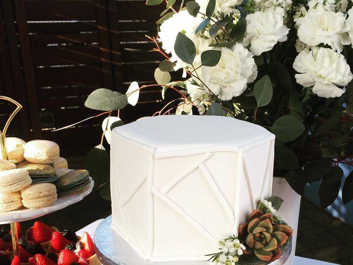 Tmx Geometricwhitecake 51 980494 1562613366 Los Angeles, CA wedding cake