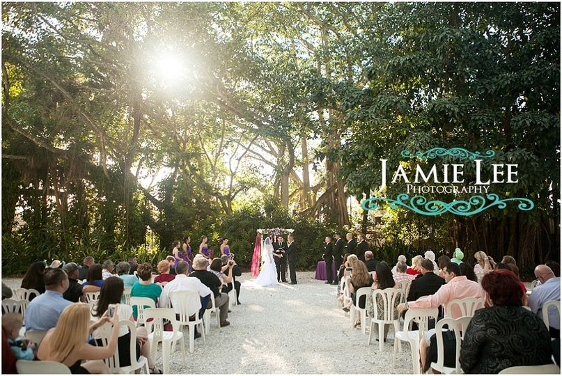Rainforest Grove is a stunning venue for a wedding ceremony, the sun sets beautifully in the...