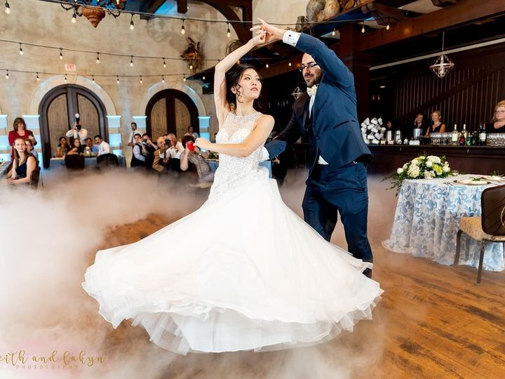 Tmx Emily And Andrew George First Dance With Watermark 51 952494 1569244221 Raleigh, North Carolina wedding dj