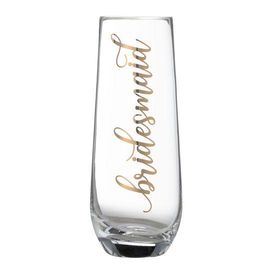 Bridesmaid Glass
