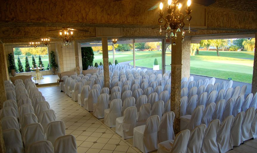 Indoor and outdoor Ceremony venue