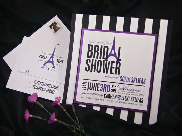 Tmx 1355503795977 Sofiashower Allendale wedding invitation
