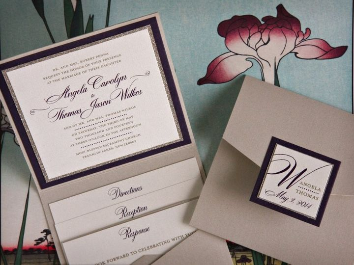 Tmx 1418396295154 Angelathomasinvite Allendale wedding invitation