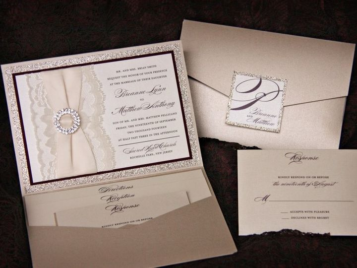 Tmx 1418396299972 Breannematthewinvite Allendale wedding invitation
