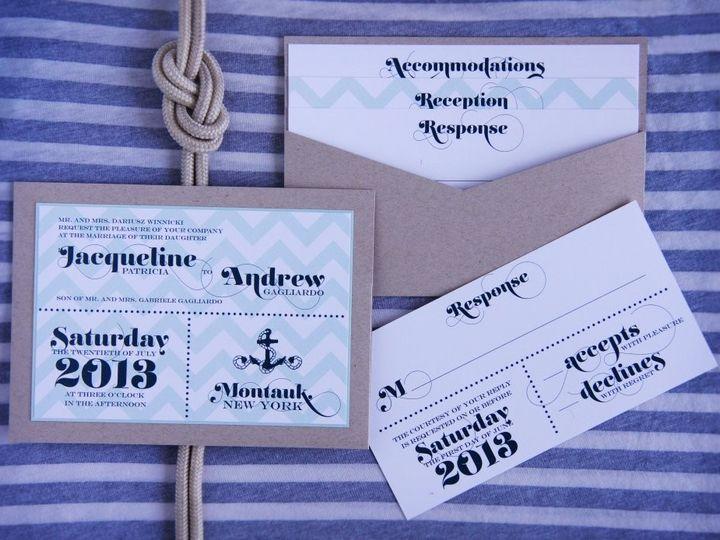 Tmx 1418396306744 Jacquelineandrewinvite Allendale wedding invitation