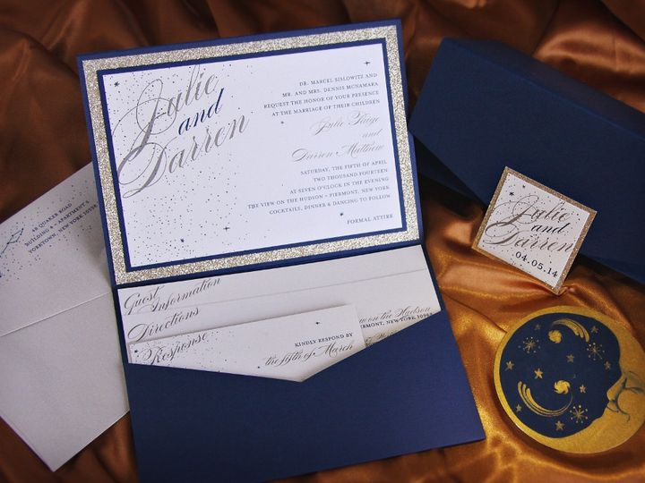 Tmx 1418396314202 Juliedarreninvite Allendale wedding invitation