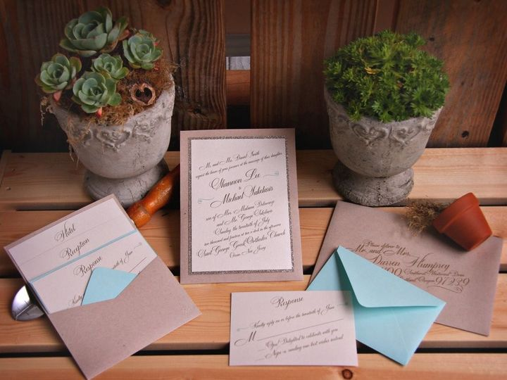 Tmx 1418396333755 Shannonmichaelinvite Allendale wedding invitation