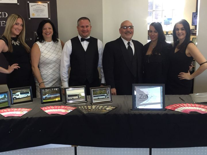 Wedding Experts at our annual wedding ring trunk show.
