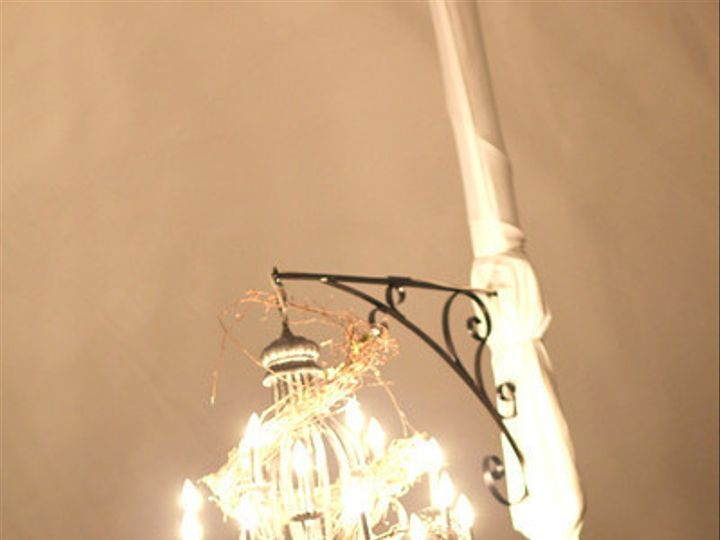 Tmx 1447952973711 Chandelier Pole Cover Charlotte, North Carolina wedding rental