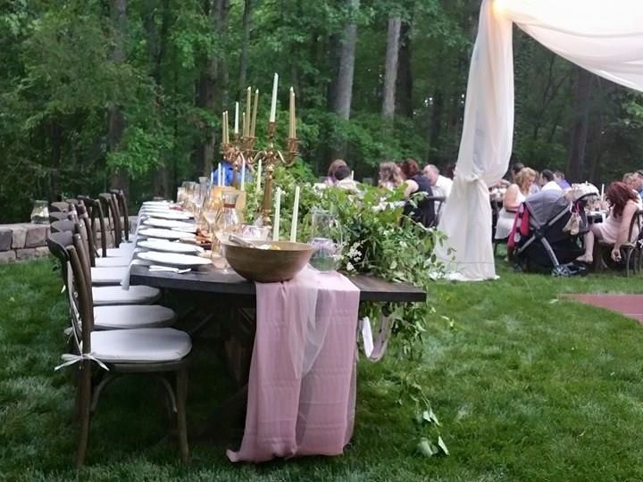 Tmx 1447958208625 Mccants Wedding 3 Farm Tables Charlotte, North Carolina wedding rental