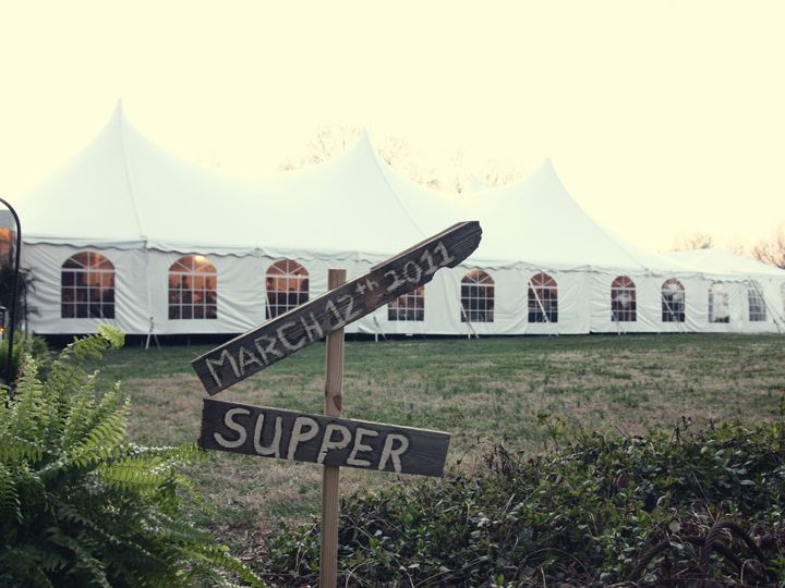 Tmx 1447960568786 60x100 Tent And Vintage Signs Charlotte, North Carolina wedding rental