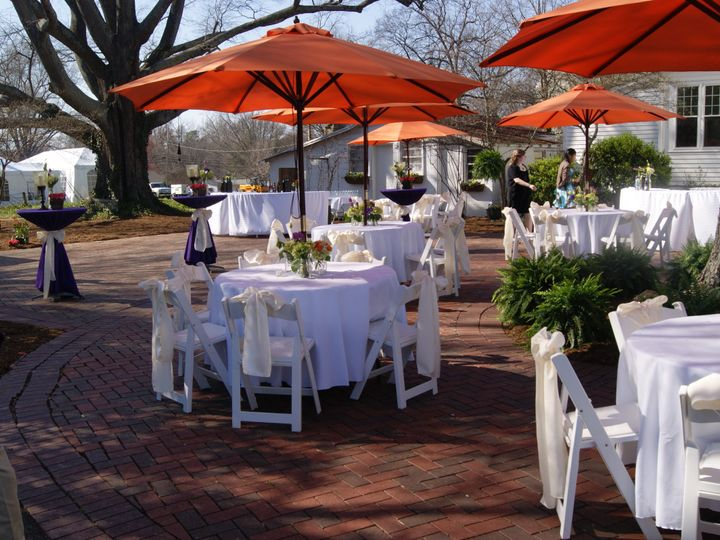 Tmx 1447960820709 Umbrellas And Cocktail Tables Charlotte, North Carolina wedding rental