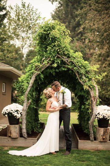 Backyard weddings are IN.